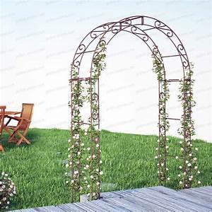 Arche De Jardin En Fer Forgé : jardins anim s am nagement du jardin architecture du ~ Premium-room.com Idées de Décoration