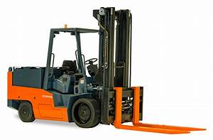 High Capacity Electric Cushion Forklift