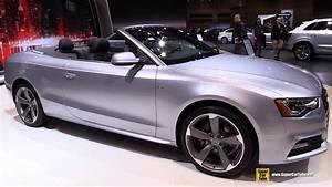 Audi A5 2015 : 2015 audi a5 cabriolet exterior and interior walkaround 2015 chicago auto show youtube ~ Melissatoandfro.com Idées de Décoration