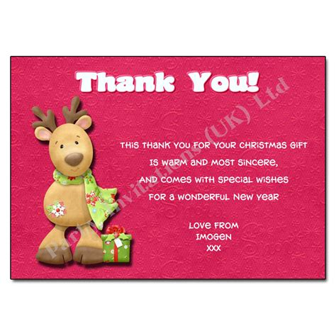 christmas thank you letter new calendar template site