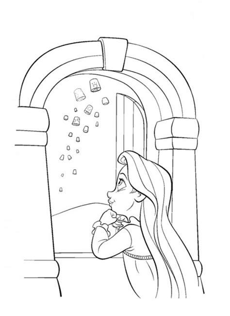 disegni da colorare  rapunzel pianetabambiniit
