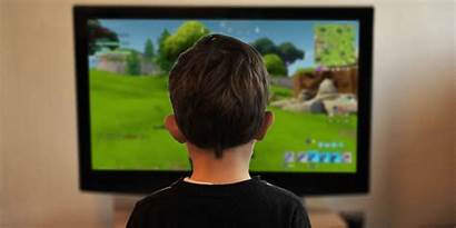 Fortnite Playing Play Jugando Child Ninos Kid