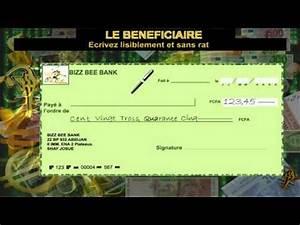 Chèque De Banque La Poste : comment bien remplir un ch que youtube ~ Medecine-chirurgie-esthetiques.com Avis de Voitures