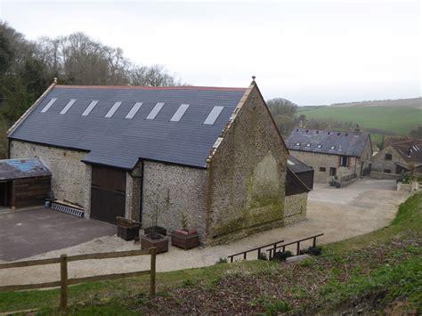 Barn Roofing by Fibreglass Slate Tile Barn Roof In Dorset Shapes Grp