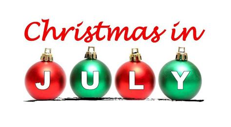 how did christmas in july start in july clay youth food program