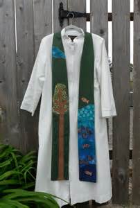 Green Clergy Stole