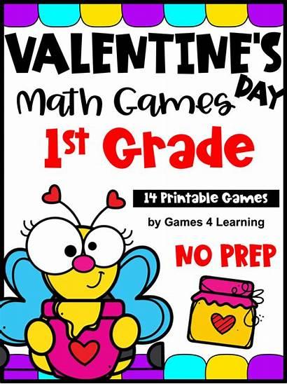 Math Grade Valentine Games Teacherspayteachers
