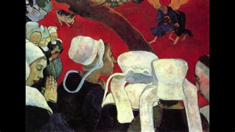 Paul Gauguin, Vision After The Sermon, Or Jacob Wrestling With The Angel Youtube