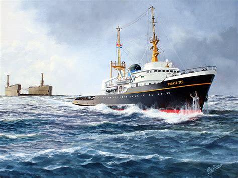 scheepsportretten sleepboot de zwarte zee iv artboutique