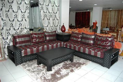 cuisine ambiance décoration salon marocain