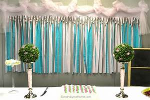 Decorating for a Baby Shower - Sondra Lyn at Home