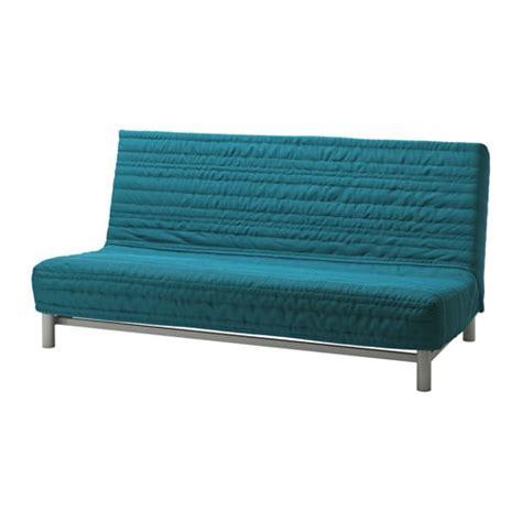 canape futon ikea beddinge sofa bed slipcover knisa turquoise ikea