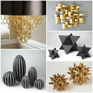 black and gold home decor home inspiration 2017