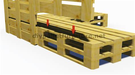 canapé avec palette bois et plans 3d de la façon de faire un canapé