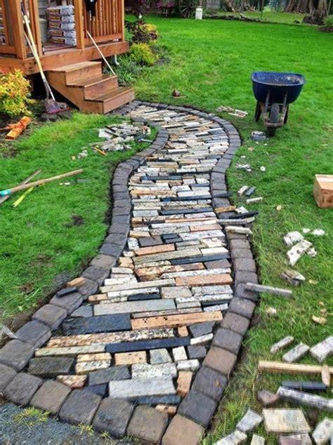 inspirational diy garden projects  stone rocks