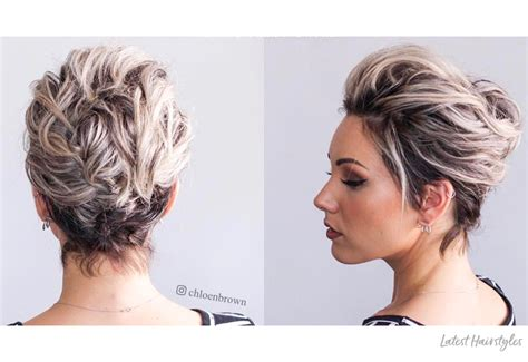 Homecoming Hairstyles For Pixie Cuts by 18 Gorgeous Prom Hairstyles For Hair For 2019