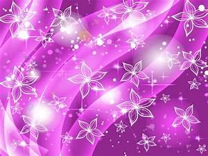 Purple Flowers Stars Background Vector Art & Graphics ...