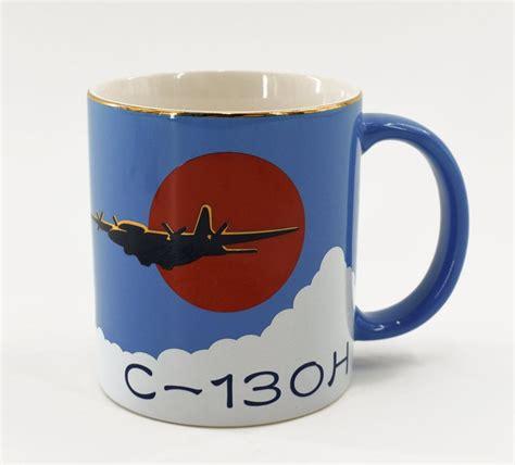 Army coffee mugs > u.s. C-130H Military Aircraft Vintage Coffee Mug Japanese Air ...