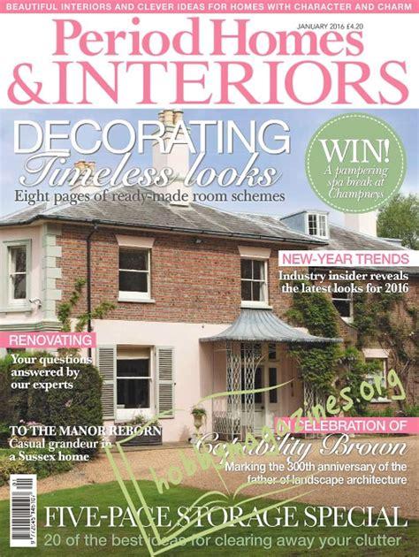 period homes interiors magazine period homes interiors january 2016 hobby magazines