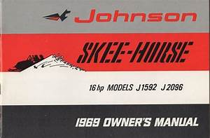 1969 Johnson Skee