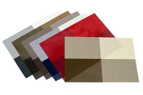 modern vinyl placemats wholesale modern vinyl grid placemat 6 colors 13x19