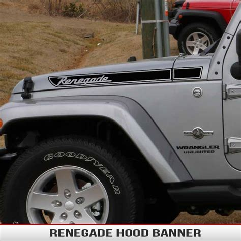 jeep hood decals renegade hood decal alphavinyl