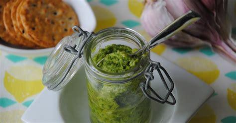 cuisine avec les restes ca bouffe un doberman pesto vert d oignons nouveaux je