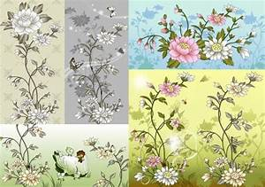 Chinese flower vector free vector download (10,623 Free ...