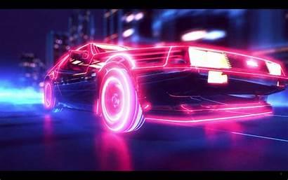 Cyberpunk Delorean Trailer Am Screen Shot