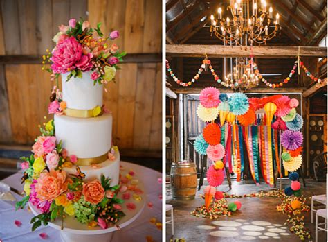 Dont Be Afraid Of Bright Wedding Colors Lake Tahoe