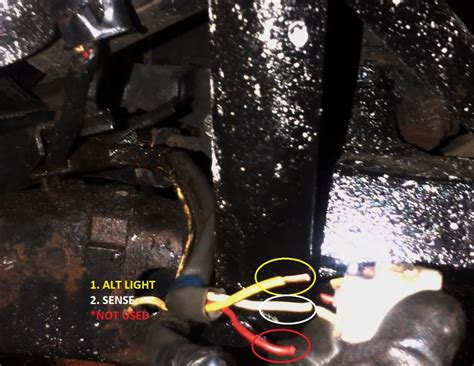 1986 Toyotum 4x4 Wiring Harnes by How To Gm 1 Wire Alternator To A 3 Wire In Toyota