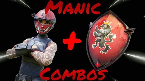 Manic Skin Best Combos Fortnite Battle Royale Youtube