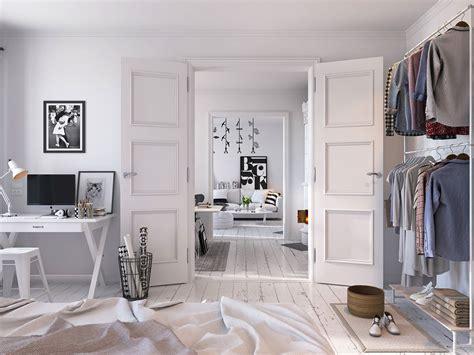 Bright Scandinavian Decor In 3 Small One Bedroom Apartments by 26 Bright Scandinavian Decor In 3 Small One Bedroom