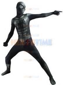 New Black Spiderman Costume Lycra 3D Printing Spider Man ...