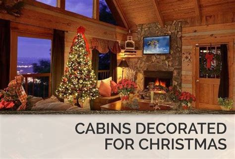cabins decorated  christmas  pigeon forge