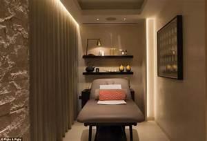 Therapy room decor ideas, ritz-carlton spa treatment room