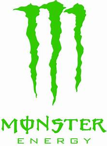 Monster Energy Vinyl Sticker 199 BluntOne