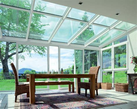 coperture per verande verande vetrate finstral in pvc ad alto valore termoisolante