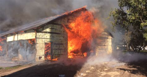 Barn Fires by Barn In Barron Recent News Drydenwire