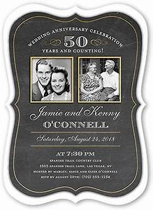25 best ideas about wedding anniversary invitations on With 50th wedding anniversary invitations hallmark