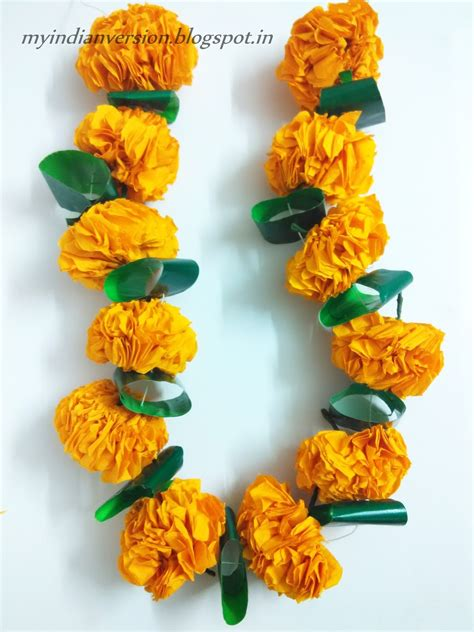 marigold garland my indian version diwali series part 1 diy marigold flower garland