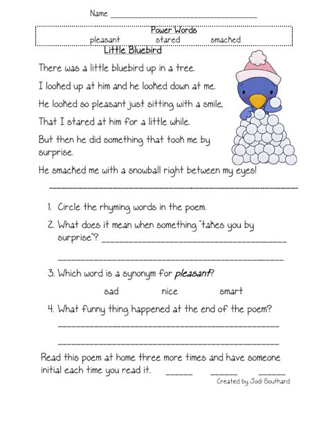 Free Printable Reading Comprehension Worksheets For Kindergarten Fresh Free Printable 4th Grade