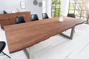 Baumstamm Als Tisch : massiver baumstamm tisch 6 cm 100x200 kaufen auf ~ Watch28wear.com Haus und Dekorationen