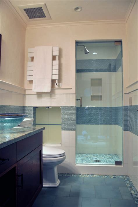 All Tile Bathrooms by Ceramic Tile Shower Contemporary Bathroom By All Tile