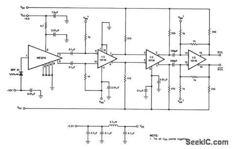 Digital Fiber Optic Receiver Communication Circuit