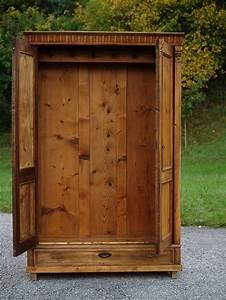 Antik Schrank Garderobe Kasten Dielenschrank Weichholz