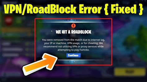 fortnite mobile  vpn error fixed jumping fixed
