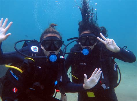 padi open water diver course cham island diving center