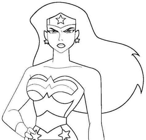 woman coloring pages  superhero  woman