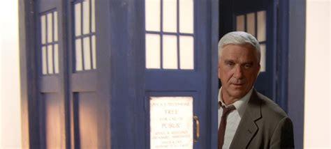 leslie nielsen doctor leslie nielsen as the doctor doctor who brasil
